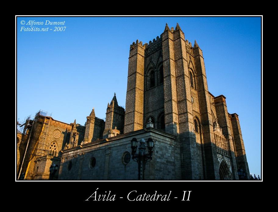 Avila – Catedral – II