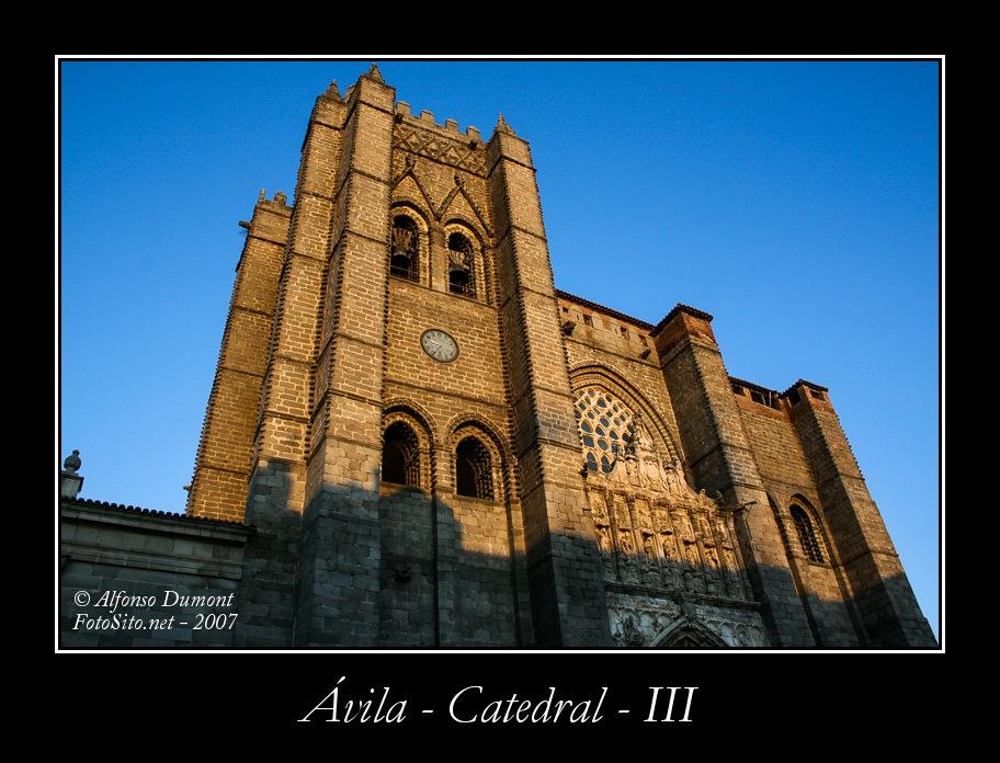 Avila – Catedral – III