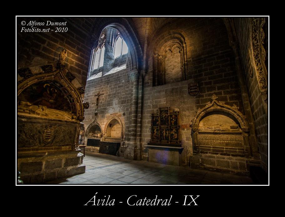 Avila – Catedral – IX