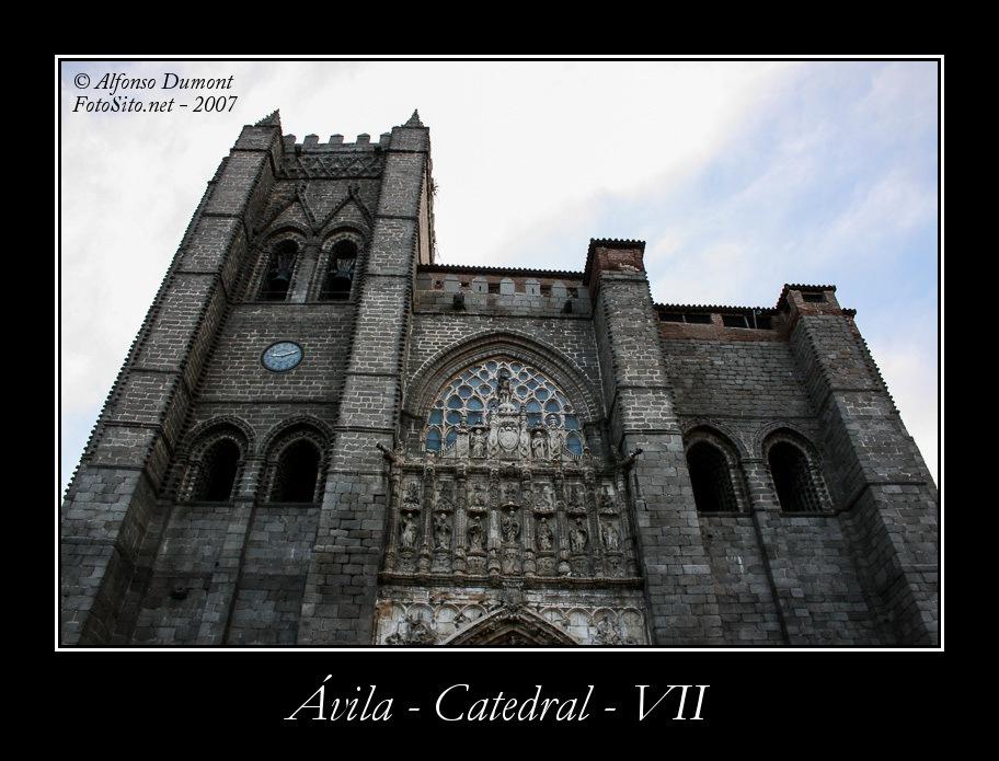 Avila – Catedral – VII