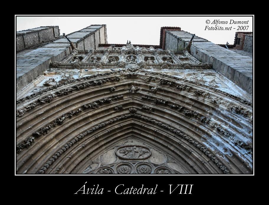 Avila – Catedral – VIII