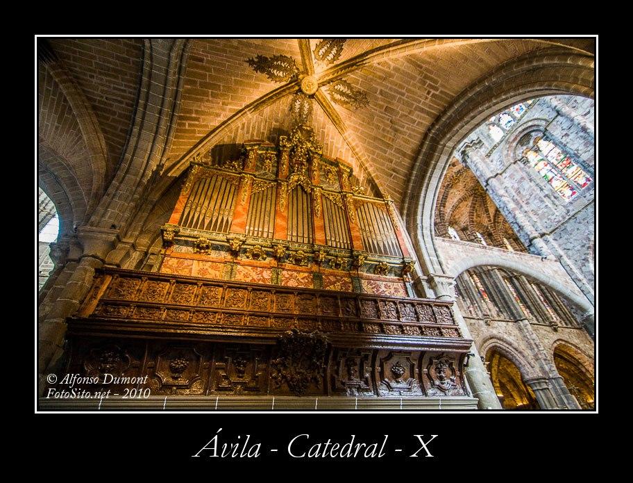 Avila – Catedral – X