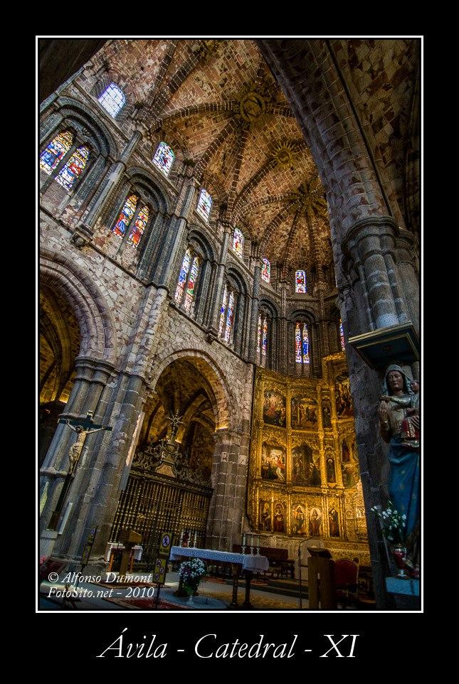 Avila – Catedral – XI