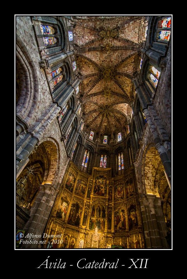 Avila – Catedral – XII