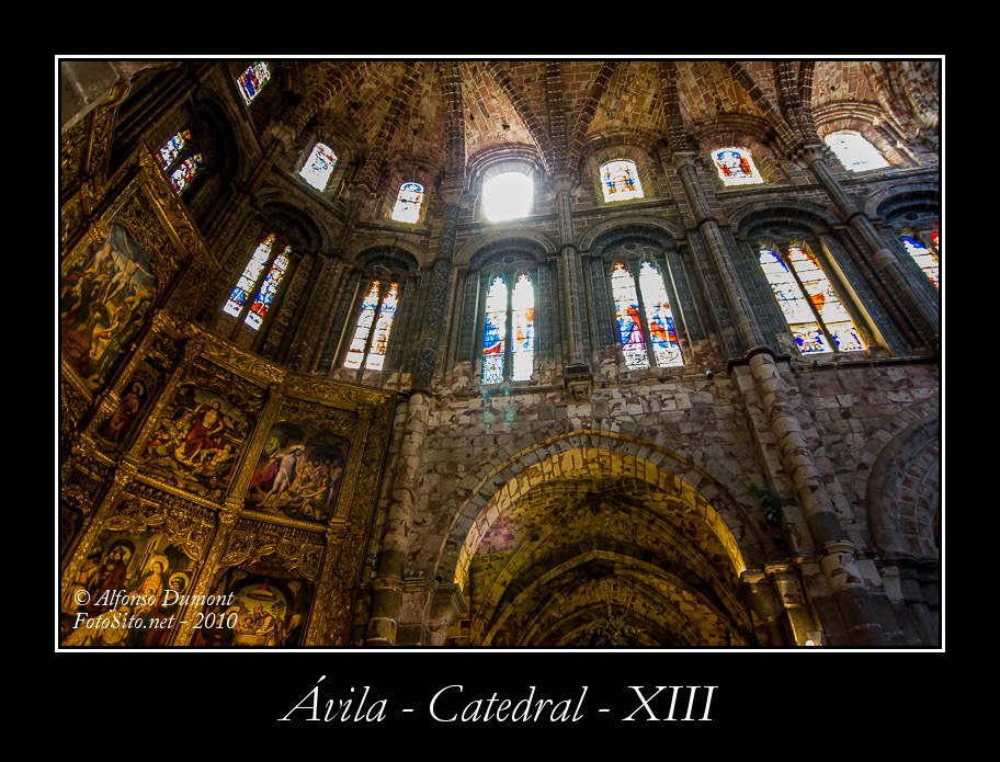 Avila – Catedral – XIII