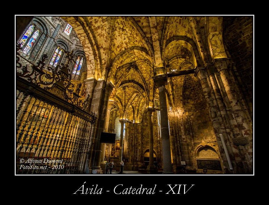Avila – Catedral – XIV