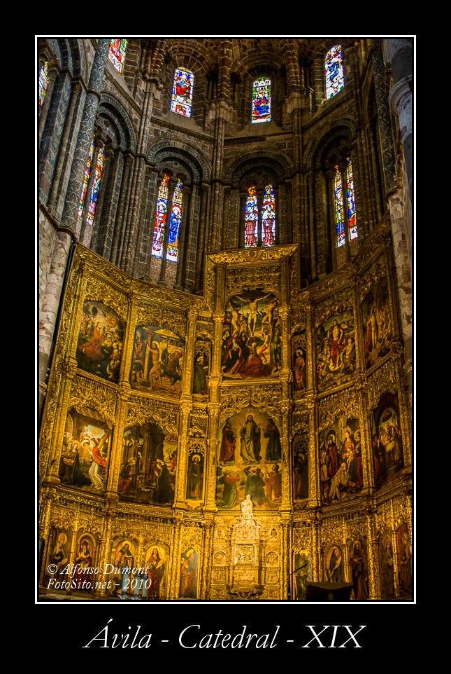 Avila – Catedral – XIX