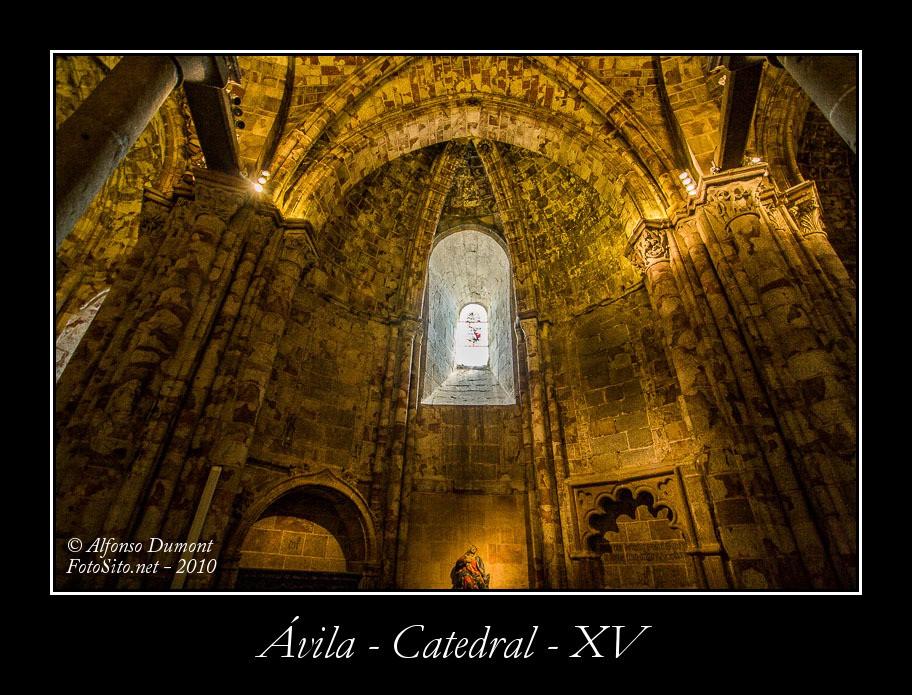 Avila – Catedral – XV