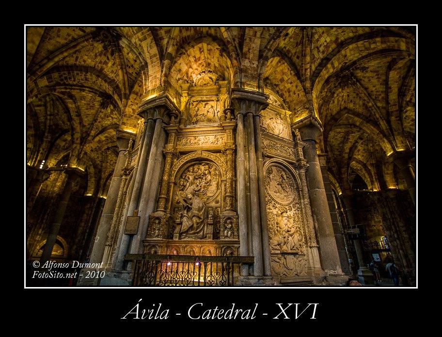 Avila – Catedral – XVI