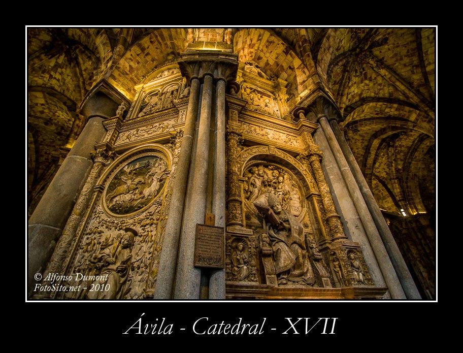 Avila – Catedral – XVII