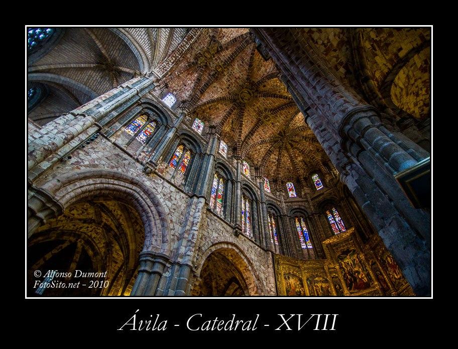 Avila – Catedral – XVIII