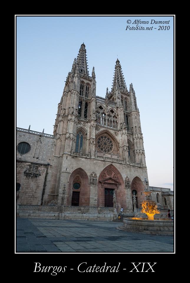 Burgos – Catedral – XIX