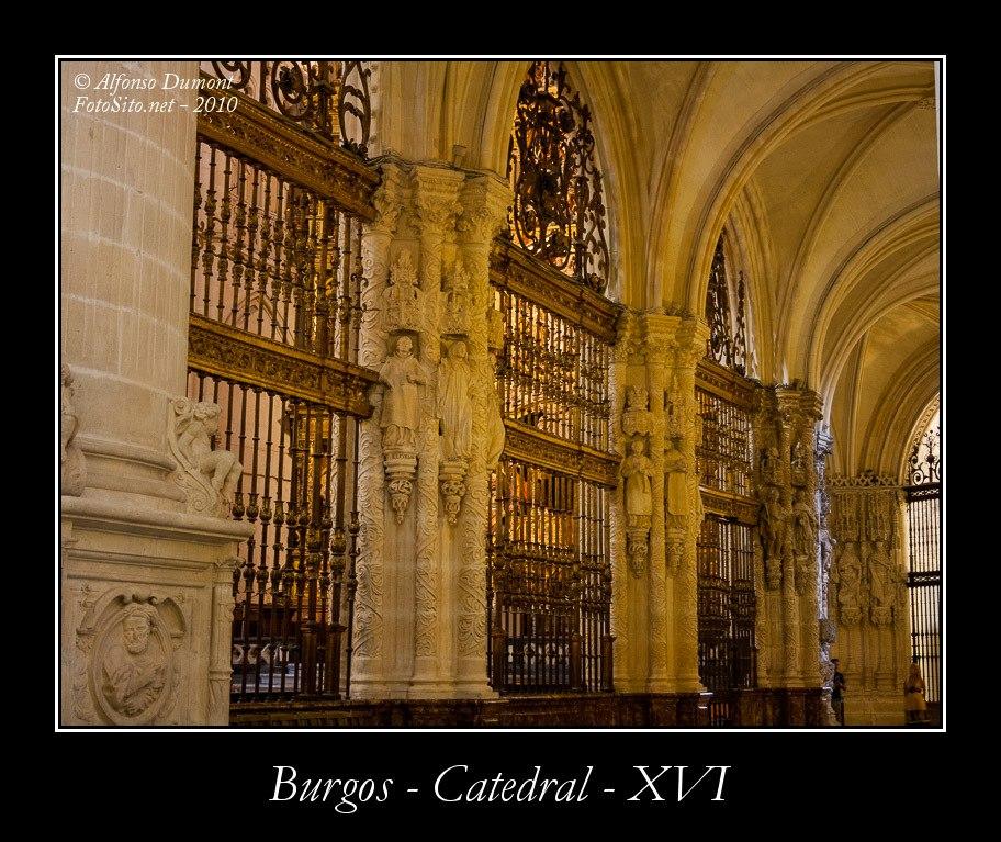 Burgos – Catedral – XVI