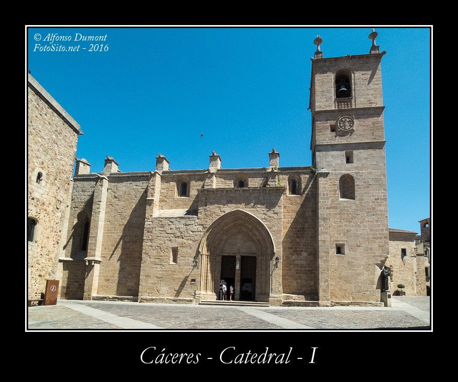 Caceres – Catedral – I