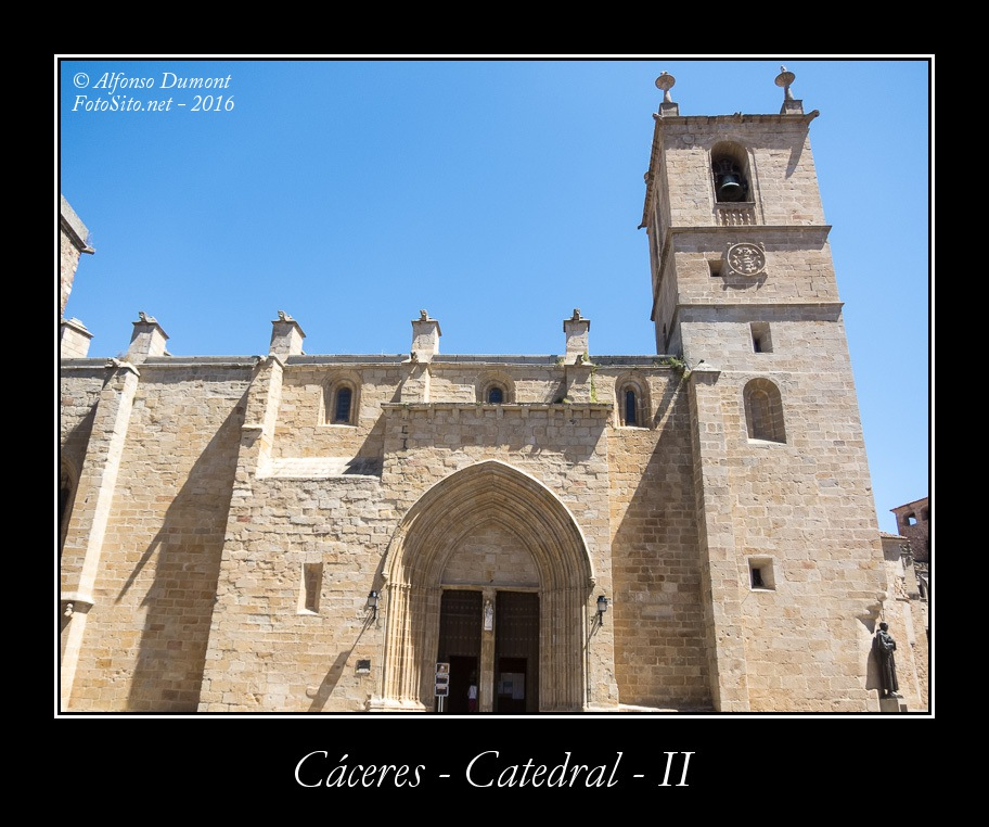 Caceres – Catedral – II