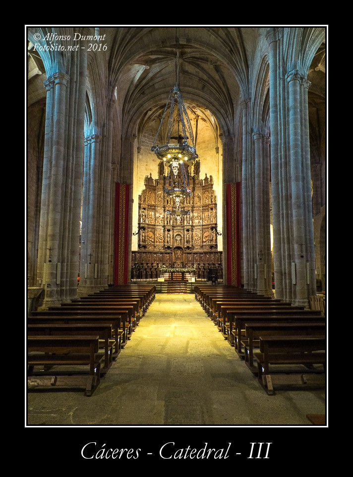 Caceres – Catedral – III