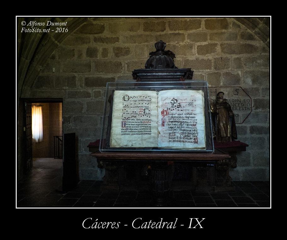 Caceres – Catedral – IX