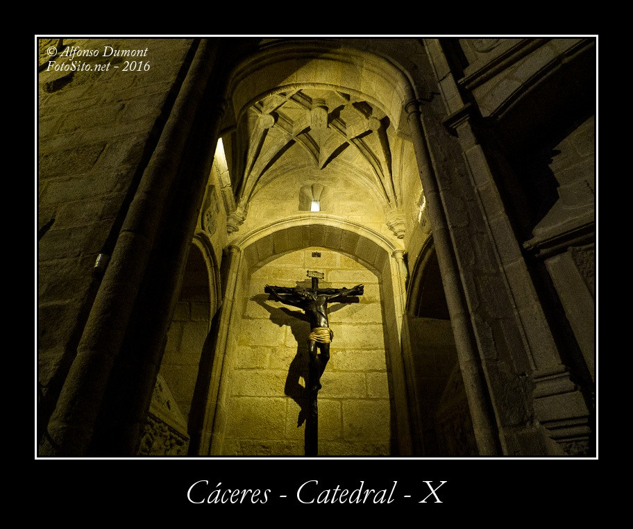 Caceres – Catedral – X