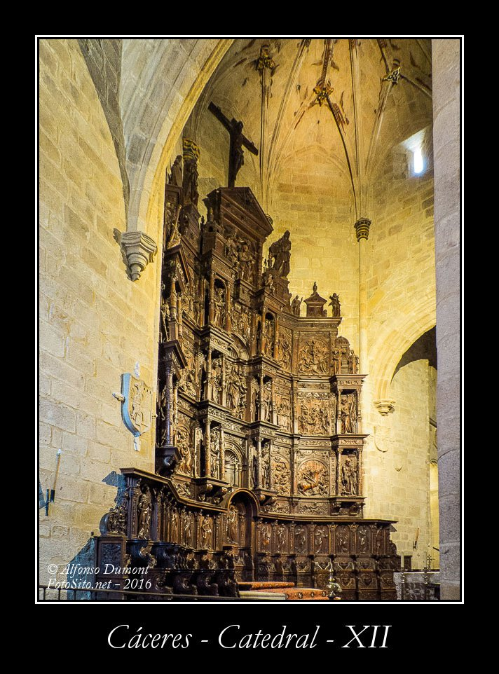 Caceres – Catedral – XII