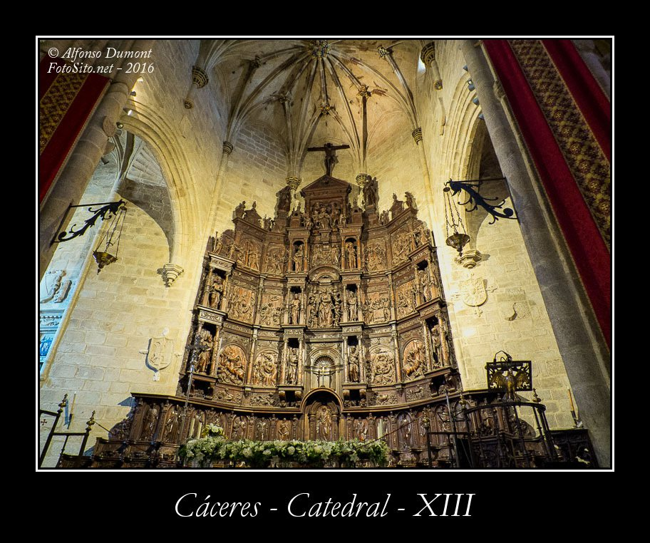 Caceres – Catedral – XIII
