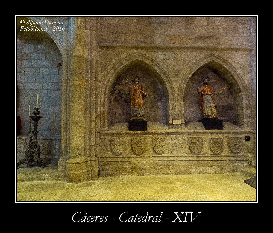 Caceres – Catedral – XIV