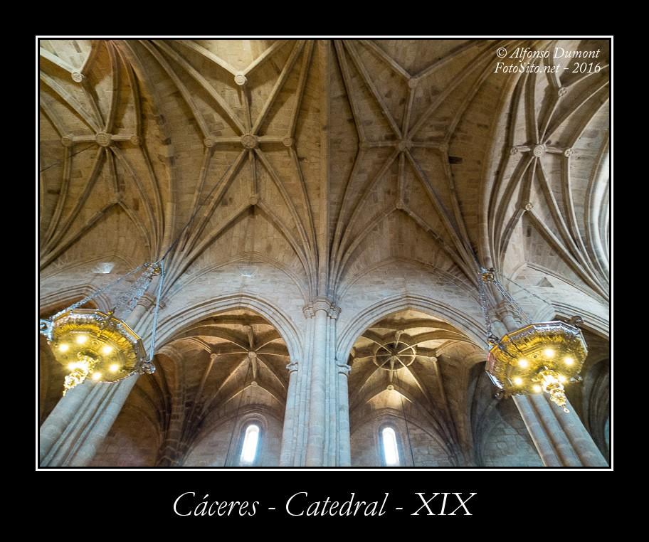 Caceres – Catedral – XIX