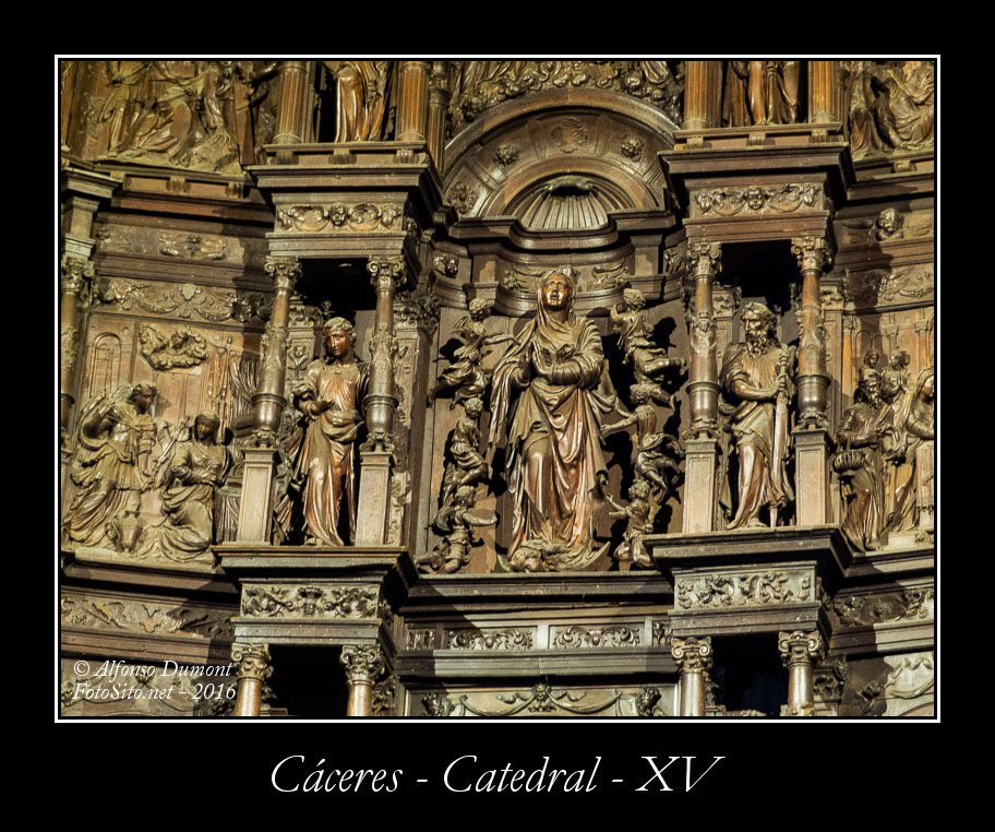 Caceres – Catedral – XV