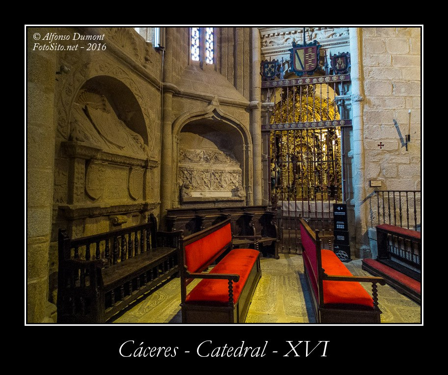 Caceres – Catedral – XVI