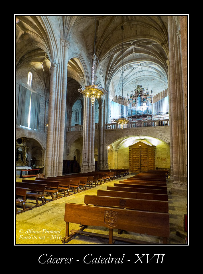 Caceres – Catedral – XVII