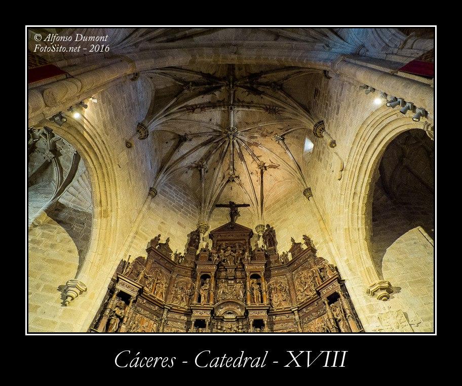 Caceres – Catedral – XVIII