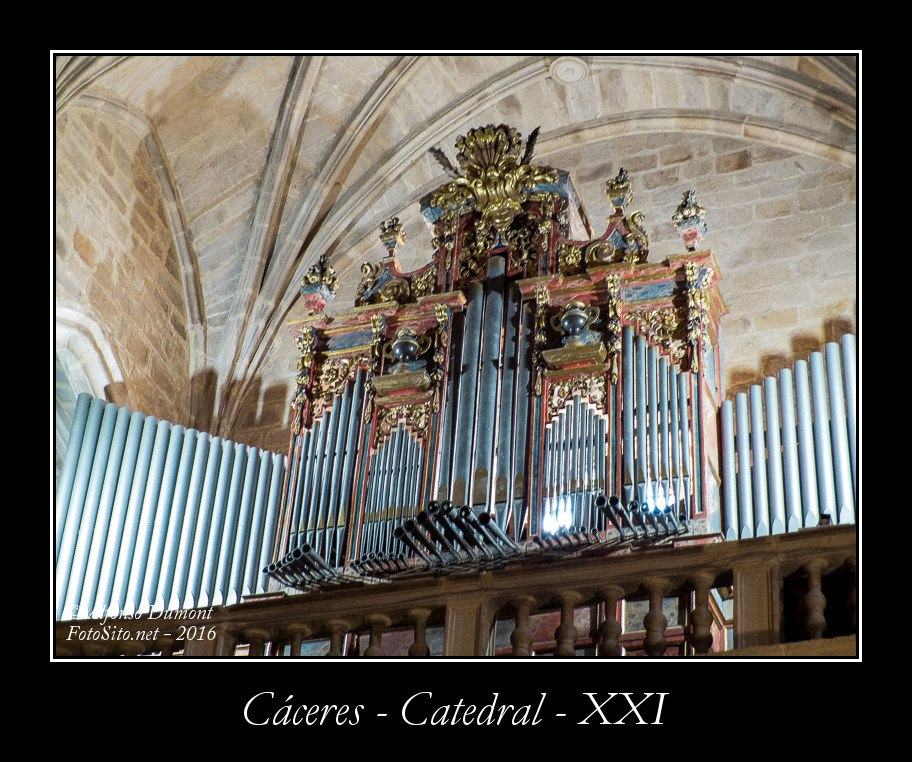 Caceres – Catedral – XXI