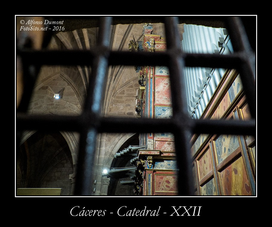 Caceres – Catedral – XXII