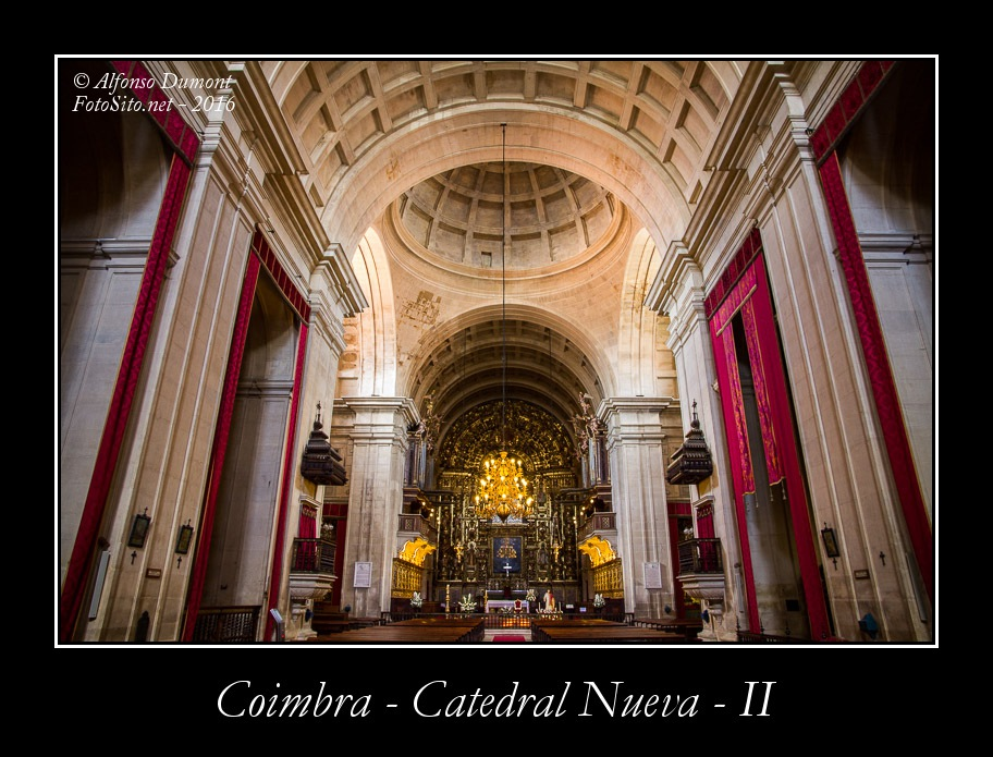 Coimbra – Catedral Nueva – II