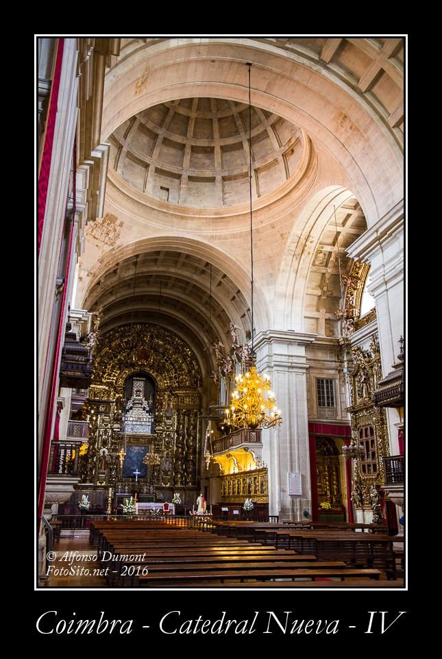 Coimbra – Catedral Nueva – IV