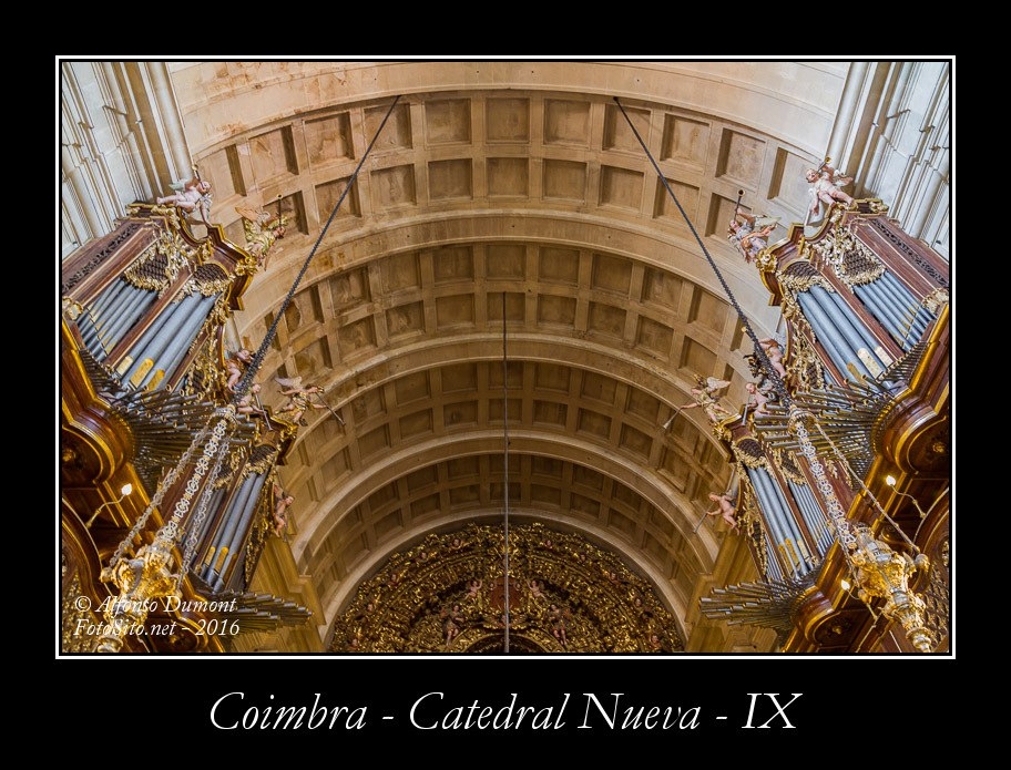 Coimbra – Catedral Nueva – IX