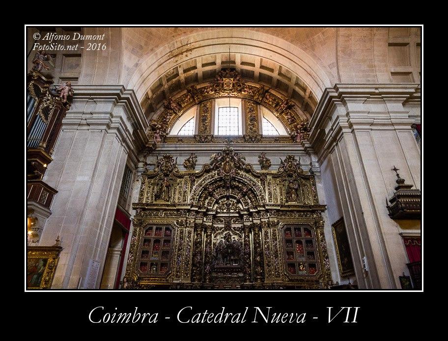 Coimbra – Catedral Nueva – VII