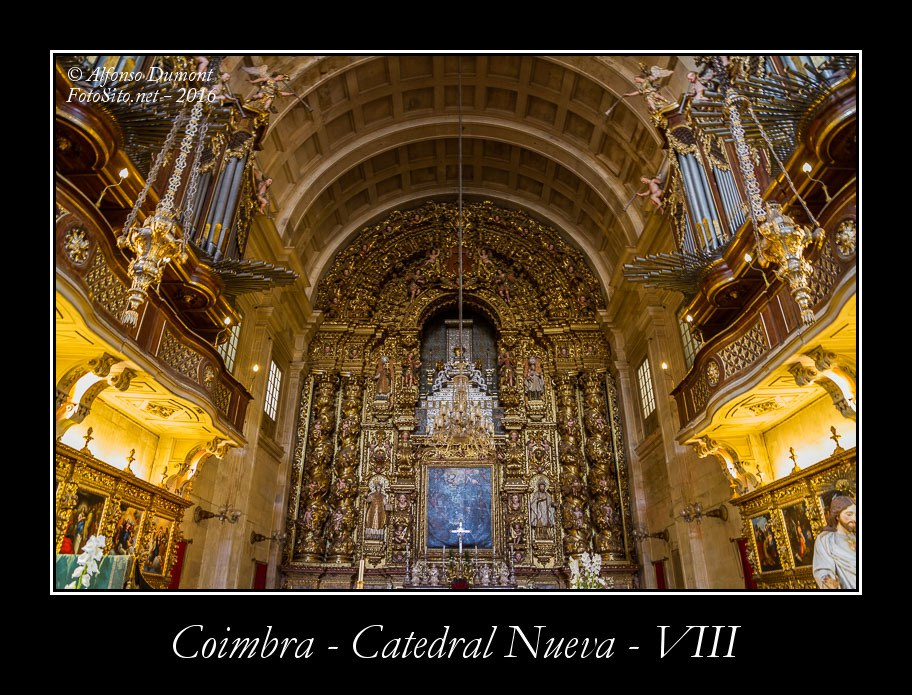 Coimbra – Catedral Nueva – VIII