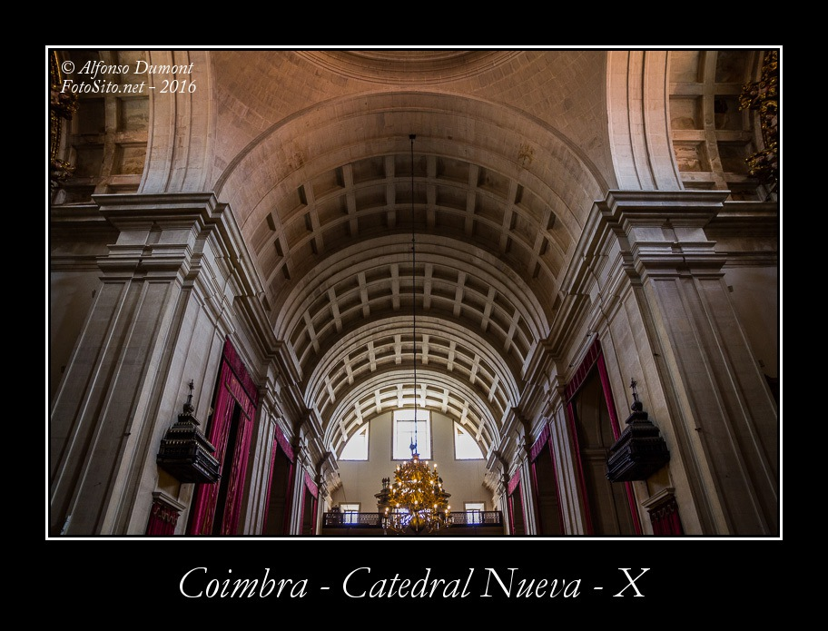 Coimbra – Catedral Nueva – X