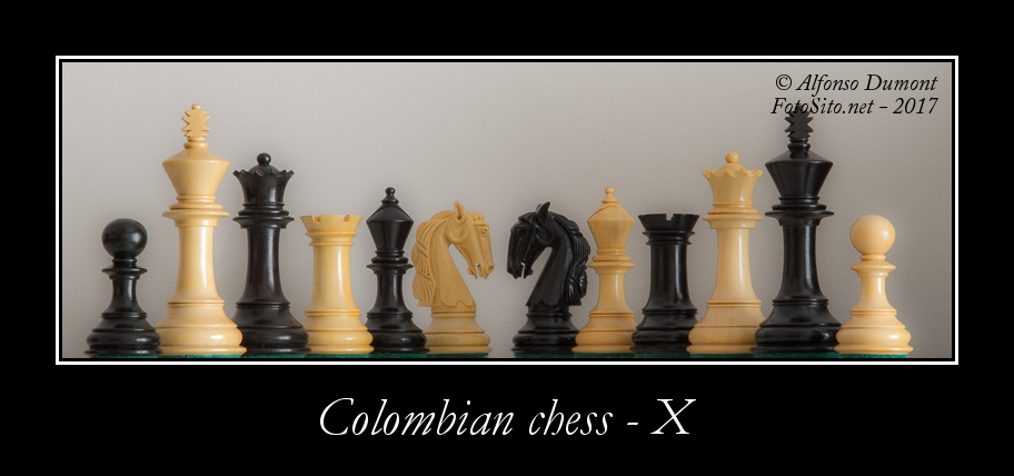colombian chess x