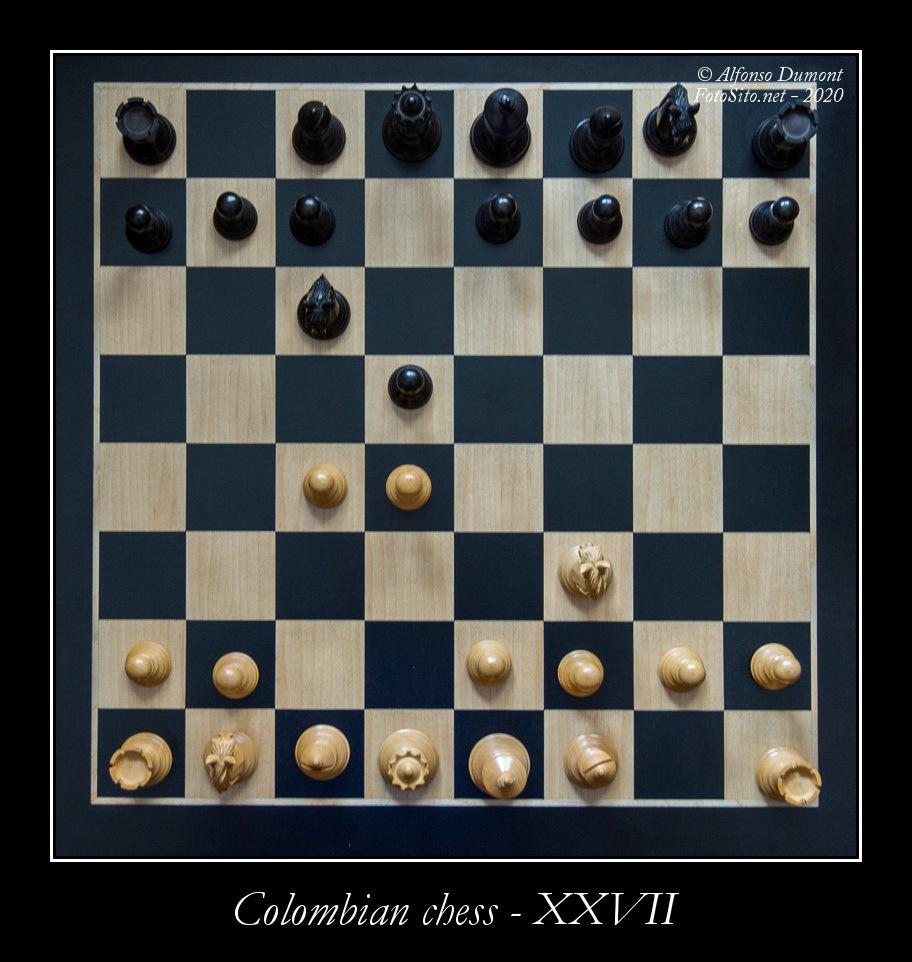 colombian chess xxvii