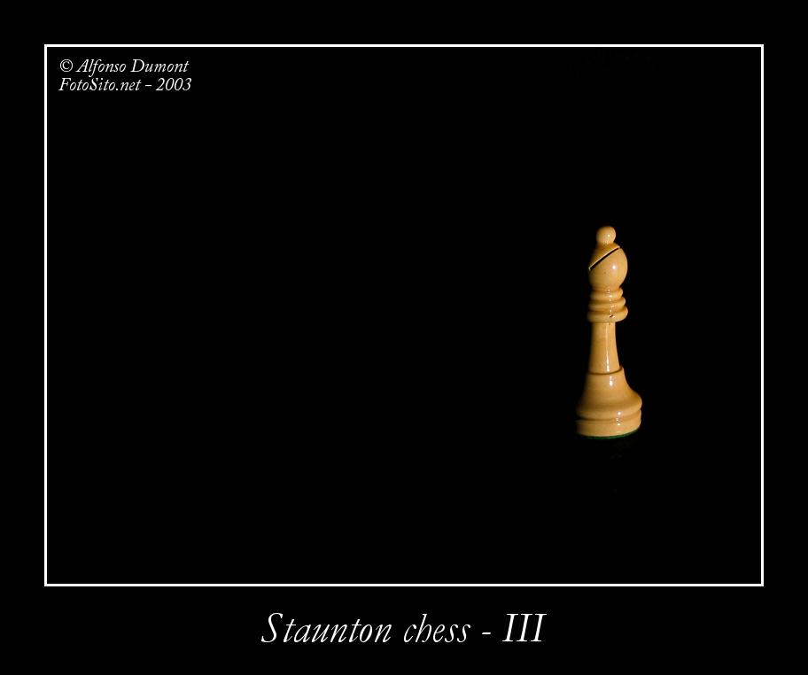 staunton chess iii