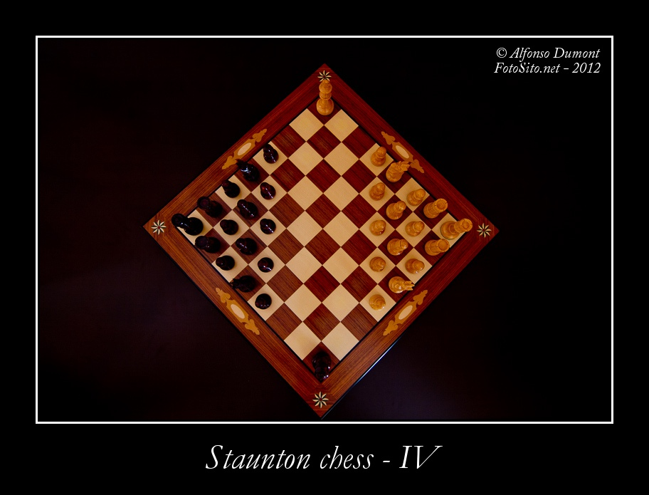 staunton chess iv