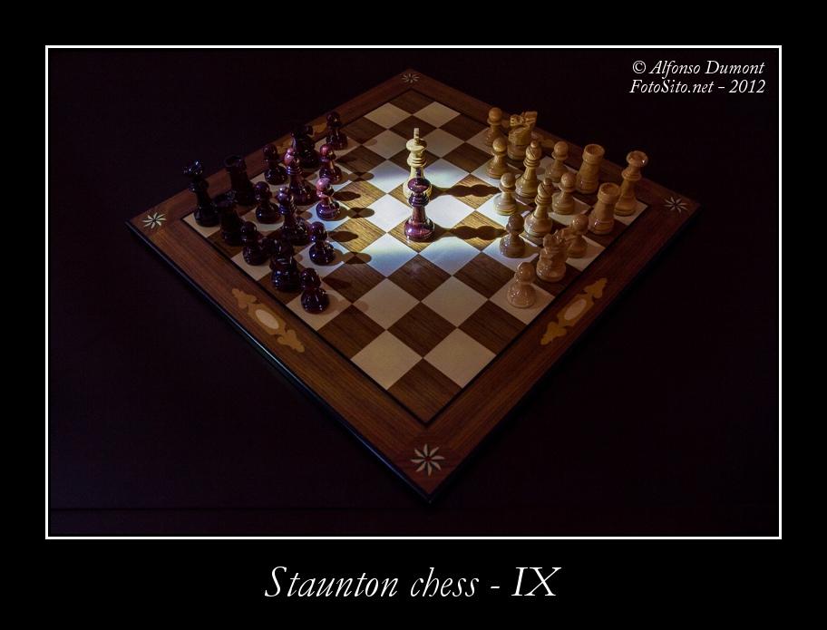 staunton chess ix