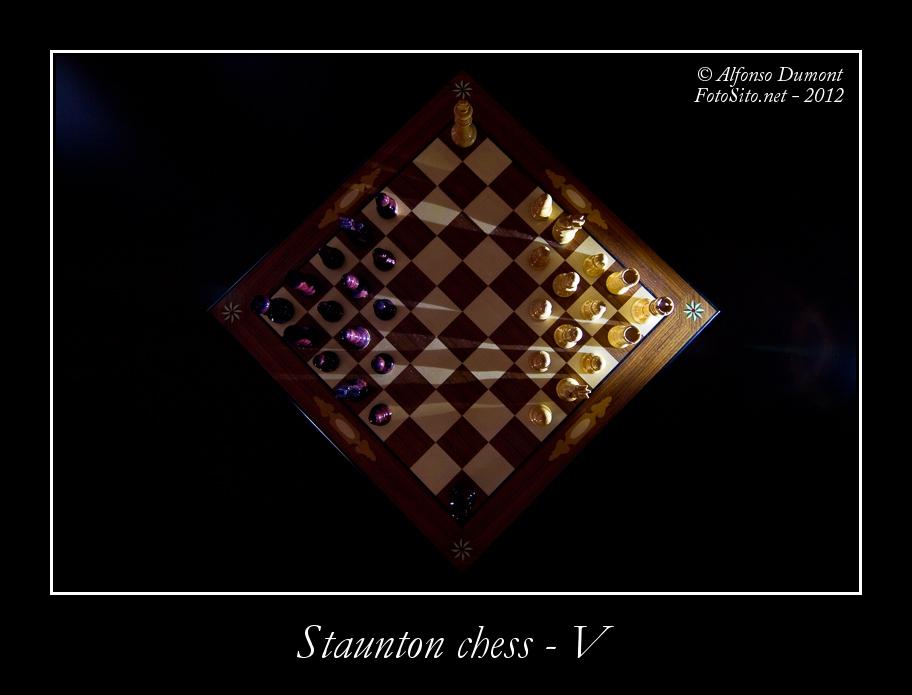 staunton chess v
