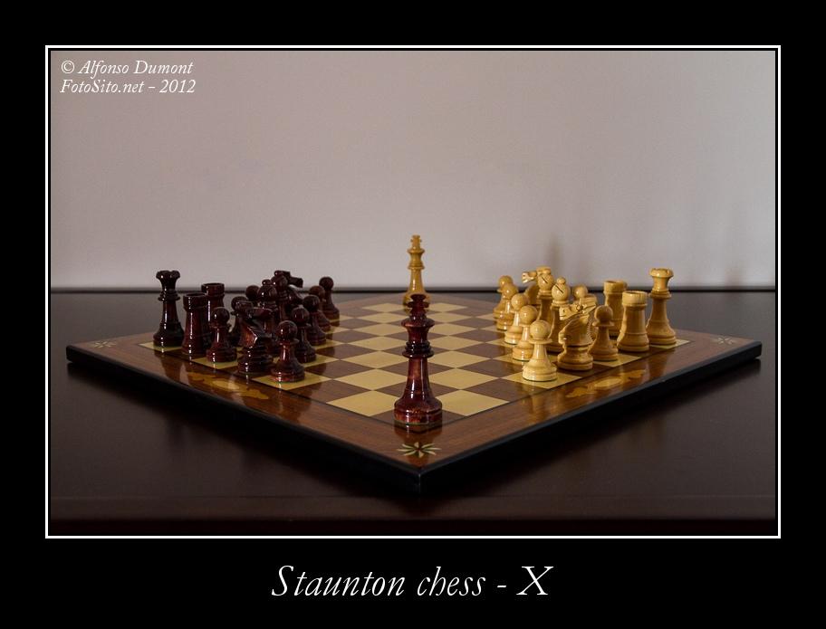 staunton chess x
