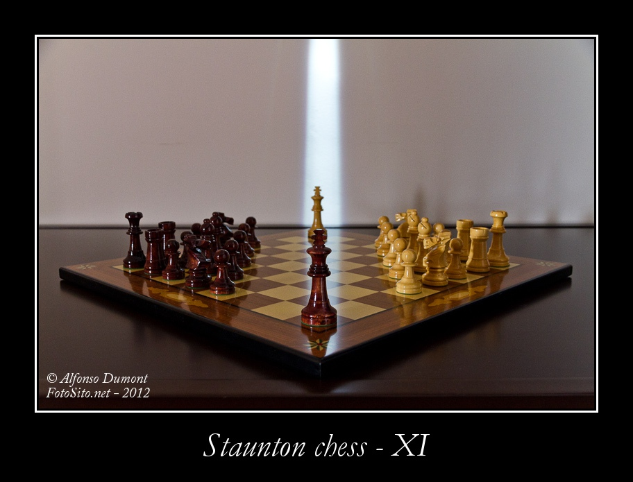 staunton chess xi