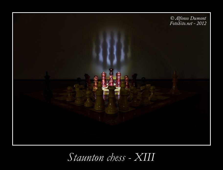 staunton chess xiii