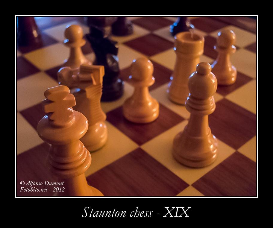 staunton chess xix