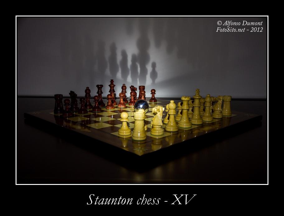 staunton chess xv