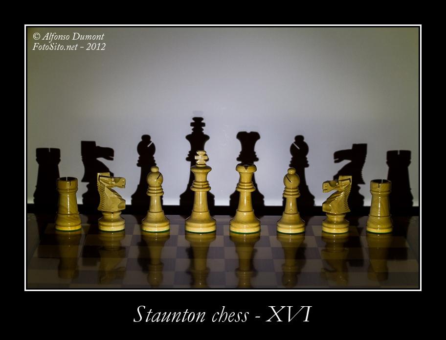 staunton chess xvi